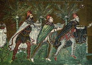 Three Kings, S. Apollinare Nuovo, Ravenna